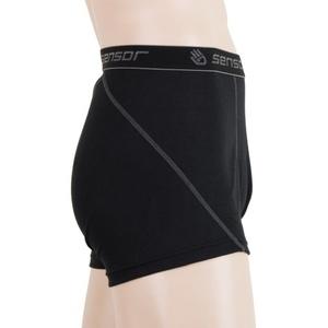 Pánské boxerky Sensor Double Face černé 16200050