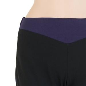 Dámské kalhoty Sensor Profi černá/fialová 16200145, Sensor
