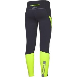 Pánské běžecké kalhoty Rogelli GROTON černoreflexní žluté 830.735, Rogelli