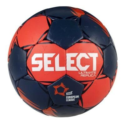 Míč na házenou Select HB Ultimate Replica EL červeno-modrá, Select