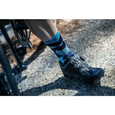 Designové funkční ponožky Rogelli SCALE 14, modré 007.154, Rogelli