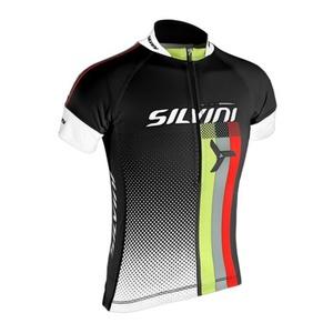 Dětský cyklistický dres Silvini TEAM kids CD842K black, Silvini