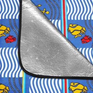 Pikniková deka Spokey PICNIC AMBER 150 x 180 cm, Spokey