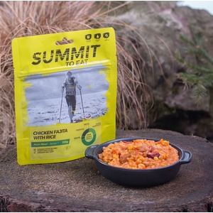 Summit To Eat dušené kuře Fajita s rýží velké balení 802200, Summit To Eat