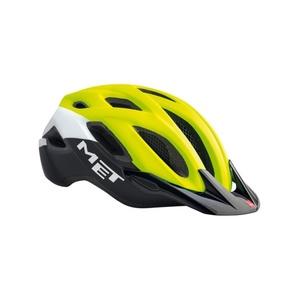 Helma MET Crossover reflexní žlutá/bílá/černá, Met
