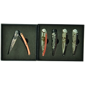 Deejo sada 5 nožů Tatto Biker 37G DEE038, Deejo