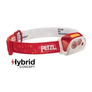 Čelovka Petzl Actik Core červená E99ABB, Petzl