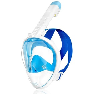 Celoobličejová maska Spokey KARWI BL/WT bílá, Spokey