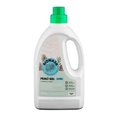 Biowash Gel cedr/lanolín na vlnu 1,5 l, Biowash