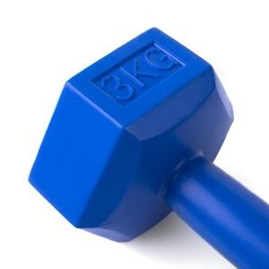 Šestihranná činka Spokey NISOS 3 kg, Spokey