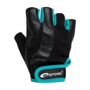 Fitness rukavice Spokey ZOE černo-zelená, Spokey