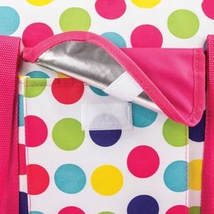 Plážová termo taška Spokey SAN REMO barevný puntík, Spokey