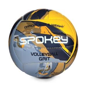Volejbalový míč Spokey GRIT šedo-žlutý č.5, Spokey
