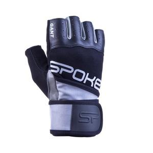 Fitness rukavice Spokey GANT II černá-bílá, Spokey