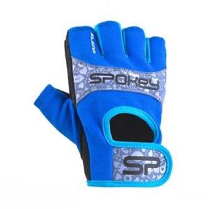 Dámské fitness rukavice Spokey ELENA II modro-tyrkysové, Spokey