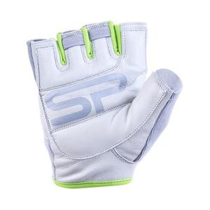 Dámské fitness rukavice Spokey ZOE II bílo-limetkové, Spokey