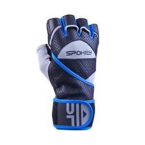 Fitness rukavice Spokey GANTLET II černo-modré, Spokey