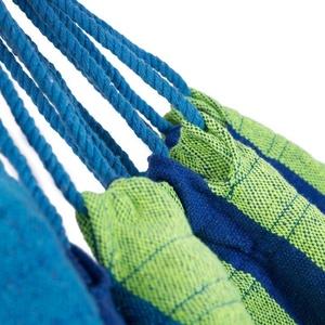 Houpací síť Spokey IPANEMA 100x200cm modrá-zelená