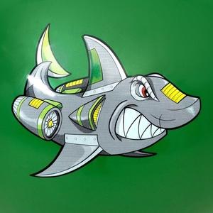 Skákací míč Spokey SHARKY 60 cm, Spokey