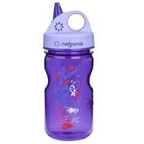 Láhev Nalgene Grip´n Gulp 350ml 2182-1212 purple hoot