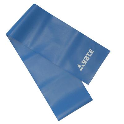 Cvičební pás Fit Band 120X12cm, tuhý, modrý, Yate