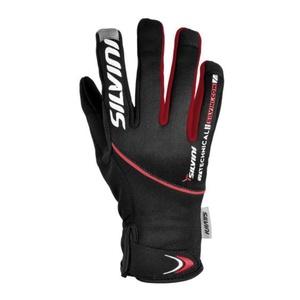 Pánské rukavice Silvini ORTLES MA722 black-red, Silvini