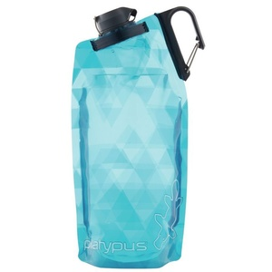 Láhev Platypus DuoLock SoftBottle Blue Prisms 0,75 l, Platypus