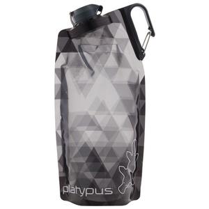 Láhev Platypus DuoLock SoftBottle Gray Prisms 1 l, Platypus