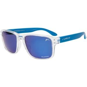 Sluneční brýle RELAX Beach čiré modré R2318D, Relax