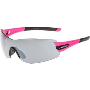 Sportovní sluneční brýle Relax Sarnia růžovo černé R5388C