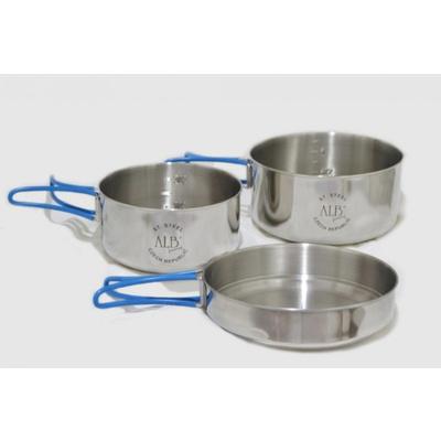 Sada nádobí Alb Makalu 3-dílná 0655