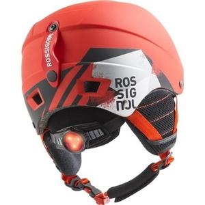 Lyžařská helma Rossignol Comp J red-led RKFH504, Rossignol