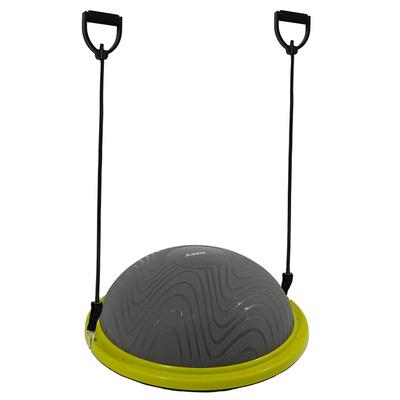 Nafukovací balanční podložka Yate Half ball šedá/zelená, Yate