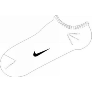Ponožky Nike Ankle Femme Blue SX1430-103
