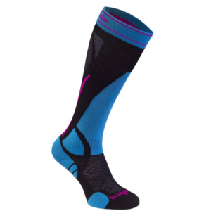 Ponožky Bridgedale Vertige Light Women's Black/Blue 007, bridgedale