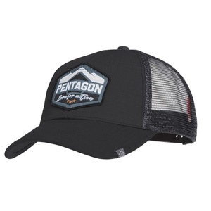Kšiltovka Era Trucker Born for action PENTAGON® černá, Pentagon