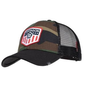 Kšiltovka Era Trucker US Flag PENTAGON® US woodland, Pentagon