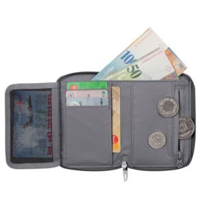 Peneženka MAMMUT Zip Wallet Smoke 0213, Mammut