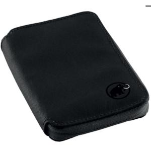 Peneženka MAMMUT Zip Wallet Black 0001, Mammut