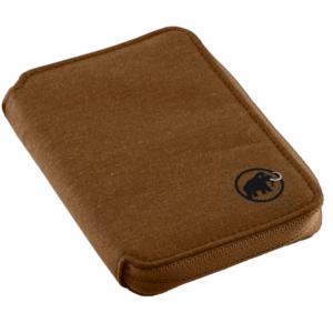 Peneženka MAMMUT Zip Wallet Mélange Timber, Mammut