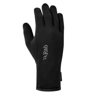 Rukavice Rab Power Stretch Contact Glove black/BL, Rab