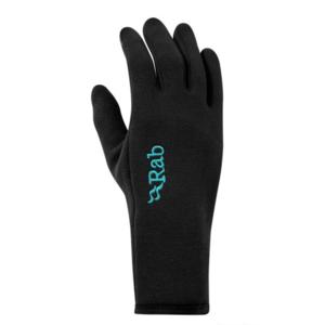 Rukavice Rab Power Stretch Contact Glove Women's black/BL, Rab