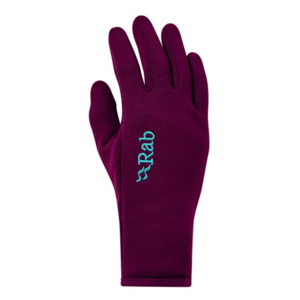 Rukavice Rab Power Stretch Contact Glove Women's berry/BY, Rab