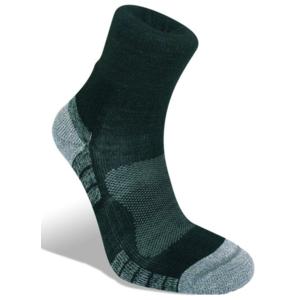 Ponožky Bridgedale Hike Lightweight Merino Performance Ankle black/silver/822, bridgedale