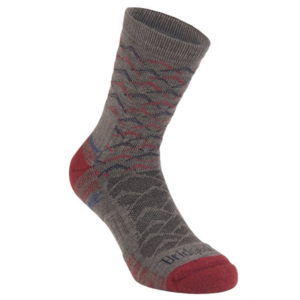 Ponožky Bridgedale Hike Lightweight Merino Performance Ankle brown/dark red/127, bridgedale