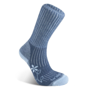 Ponožky Bridgedale Hike Midweight Merino Comfort Boot Women's blue/436, bridgedale