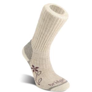 Ponožky Bridgedale Hike Midweight Merino Comfort Boot Women's natural/926, bridgedale