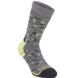 Ponožky Bridgedale Hike Midweight Merino Performance Boot grey/lime/118, bridgedale