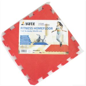 Podložka Yate Fitness Homefloor SET 4 ks/balení, Yate