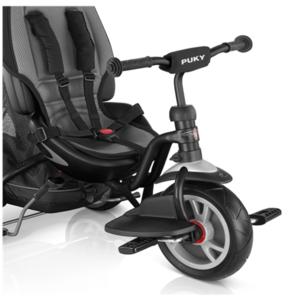 Dětská tříkolka PUKY CAT S6 Ceety City Premium černá, Puky